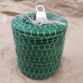 250m roll of Plastic Twist ties w carry net